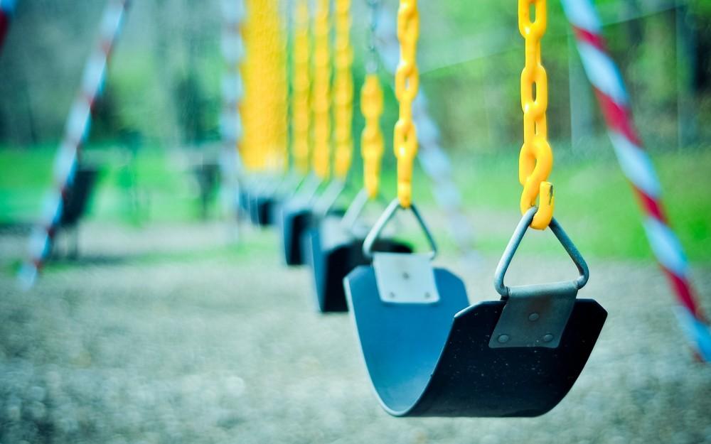 swings in a row