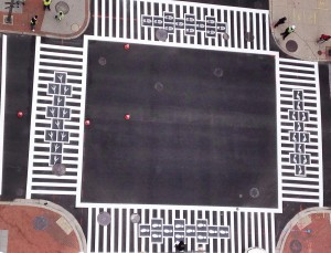 Hopscotch Crosswalk Colossus