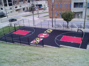 baltimore basketball court