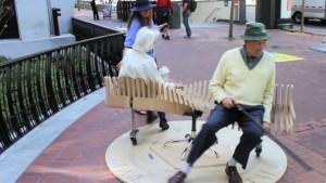 bench go round