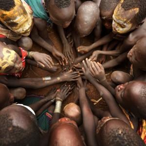 people in circle